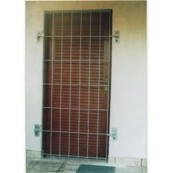 Krata drzwiowa na zawiasach